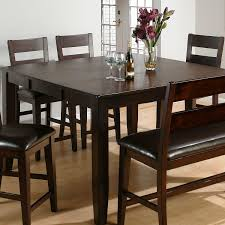 Traditional Dining Room Ideas Dining Room Dark Parson Dining Chairs With Expandable Round