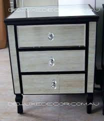 side table target mirrored nightstand with drawer omni mirrored