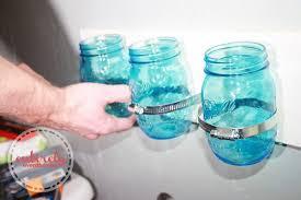 Mason Jar Bathroom Organizer Mason Jar Bathroom Organizer Tutorial Entirely Eventful Day