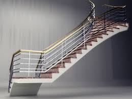 stair railing nomenclature staircase gallery