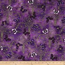 kanvas pansy noir pansy butterfly scroll purple discount
