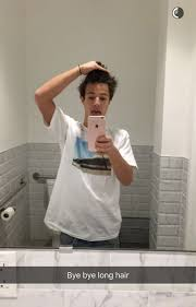 the dallas hairstyle cameron dallas debuts his new hairstyle twist