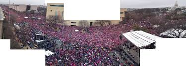 picture of inauguration crowd crowd scientists say women u0027s march in washington had 3 times as