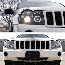 best 2005 2007 jeep grand cherokee laredo srt limited black led