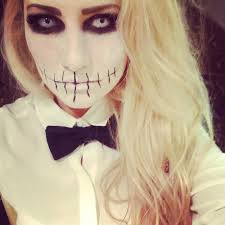 how to make white face makeup for halloween claudia wright hqscare halloween make up and costume inspo