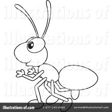 black u0026 white clipart ant pencil and in color black u0026 white