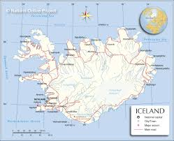 Michigan Area Code Map Map Of Iceland Nations Online Project