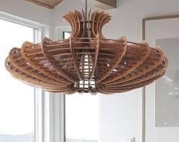 Wooden Chandelier Lighting Pendant Lighting Etsy