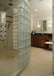 glass block bathroom designs bathroom stuning master bathrooms design with glass block shower