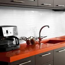 Smart Tiles Kitchen Backsplash Smart Tiles Milano Blanco 11 55 In W X 9 65 In H Peel And Stick
