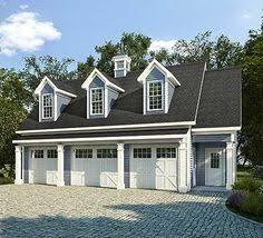 3 Car Garage Plans Garage With Loft 0124 Garage Plans And Garage Blue Prints