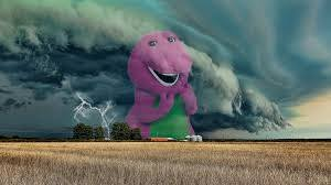 Barney Meme - the uk s storm barney sparks twitter memes with the original