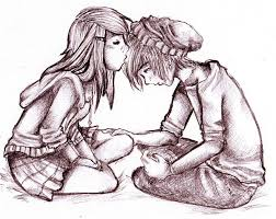 pictures cute couple sketches drawing art gallery