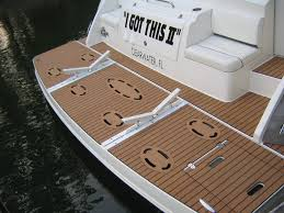 Vinyl Pontoon Boat Flooring by Synthetic Marine Flooring For Boat Waterproof Lightweight