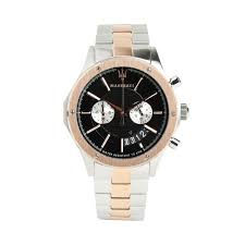 rose gold maserati car circuito watch steel rose gold watches