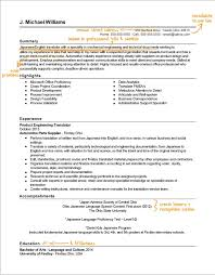 Translate Resume Translator Resume Writing Example Success Story Topresume