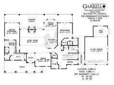T Shaped House Floor Plans U Shaped Home With Unique Floor Plan Hwbdo64049 New American