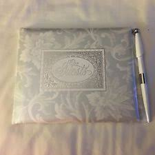 guest book and pen set hallmark book pen set wedding guest books pens ebay