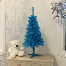 3ft blue artificial tree