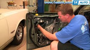 How To Replace Exterior Door by How To Install Replace Front Outside Door Handle Subaru Outback 00