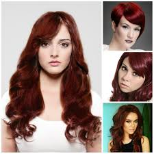 color trends 2017 2016 dark red hair color trends 2017 haircuts hairstyles and