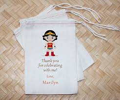 muslin favor bags personalized birthday cotton muslin favor bag