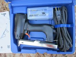 Upholstery Electric Staple Gun Duo Fast Electric Carpet Staple Gun Model Enc 5418 Carpet Vidalondon