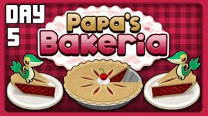 let u0027s play papa u0027s bakeria day 5 rank 4 the dining room youtube
