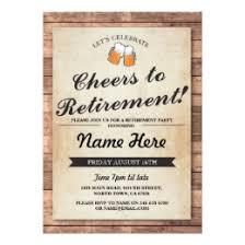 retirement party invitations retirement party invitations zazzle