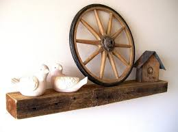 storage u0026 organization single rustic floating shelf picture how