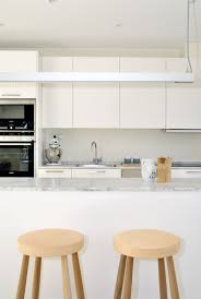 Loft House Design by Swedish Loft House With Concrete Fireplace Feature