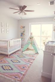 in the nursery with fantastically fit boho nursery project