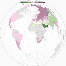 Population World Map by Men On Earth Now Outnumber Women By 66 Million U2014 Quartz