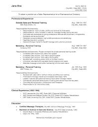 Resume Sample Undergraduate Student by Cv Sample For Medical Representative