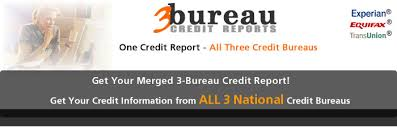 three bureau credit report 3 bureau credit reports and scores