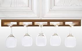 küche aufbewahrung weinglashalter gläserhalter gläserregal aus bambus küche