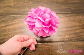 tissue paper flowers printable instructions craftaholics anonymous diy tissue paper flowers tutorial