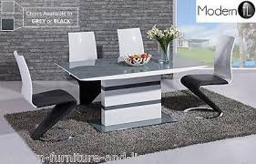 modern grey dining table amusing high gloss grey dining table 27 modern kitchen uk in 2