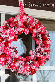valentines wreaths 25 diy s day wreaths door decorations for