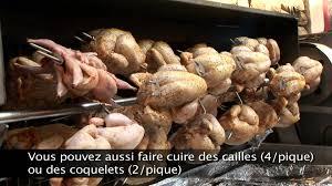 Barbecue Gaz Occasion by Rg Feu De Bois Cuisson De Poulets à La Broche Youtube