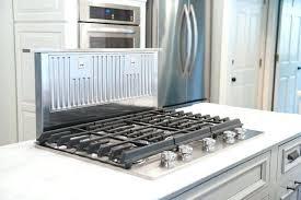 kitchen island ventilation kitchen island vent downdraft vent system in transitional kitchen