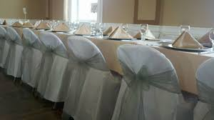 folding chair covers for sale white quot folding quot chair covers silver organza