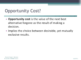 equation for opportunity cost futurespastart com