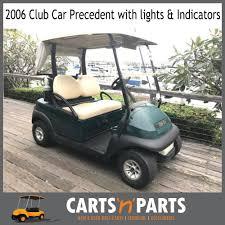 club car precedent golf cart buggy 2006 lights and indicators