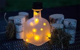 Glow In The Dark Planters by Nighttime Garden Solar Garden Decor Gardener U0027s Supply