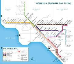 Map Of Los Angeles Airports Submission U2013 Official Map Metrolink Commuter Transit Maps