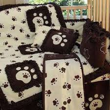 Puppy Crib Bedding Sets Puppy Baby Nursery Theme Design And Decorating Ideas Nursery