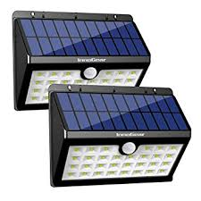 Led Solar Security Light With Motion Detector by Innogear Upgraded Solar Lights 30 Led Wall Light Outdoor Security