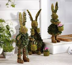 Easter Decorations Outdoor by 20 Outdoor Indoor Green Easter Decorations