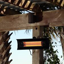 Infrared Patio Heaters Fire Sense Wall Mounted 1500 Watt Electric Mounted Patio Heater
